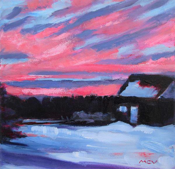 Sky Next Door Art | Lesley McVicar Art