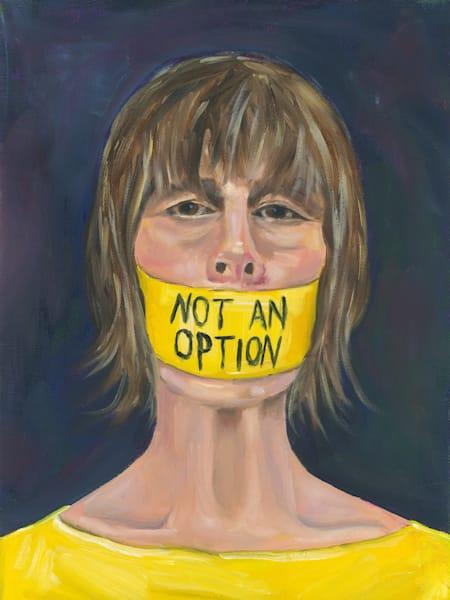 Self portrait original oil painting by Marsha Carrington