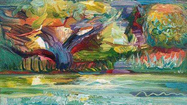 Painting Spirit – Allowing Art | Tony Hendrick