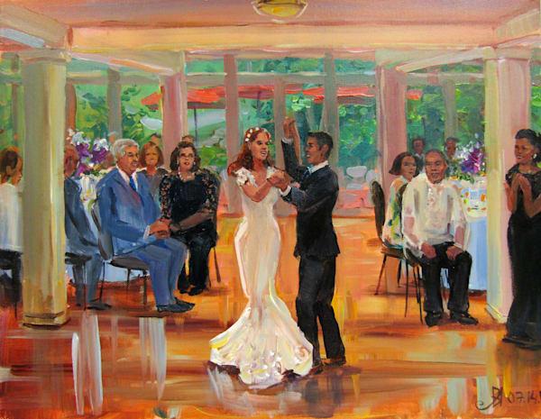 07 14 17 Wedding Painting Art   Vesna Longton Art