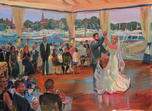 07 16 17 Wedding Painting Art   Vesna Longton Art
