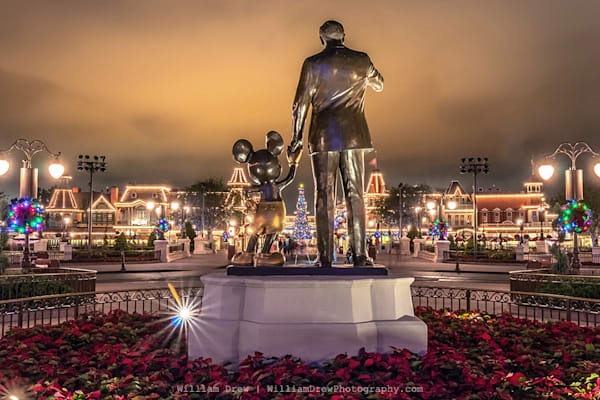 It All Started With A Mouse   Magic Kingdom Wall Murals Photography Art | William Drew Photography