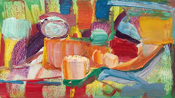 Painting Spirit – Couch Stretch Art | Tony Hendrick