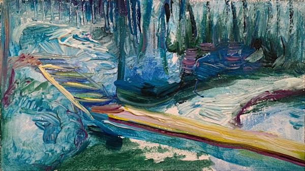 Painting Spirit – Blue Period Art | Tony Hendrick
