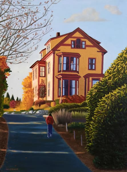 House On A Hill | The Art of David Arsenault