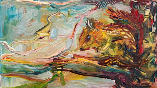 Painting Spirit – Nibbling Art | Tony Hendrick