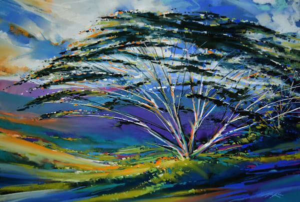 Acacia Hillside 1 Art | Michael Mckee Gallery Inc.