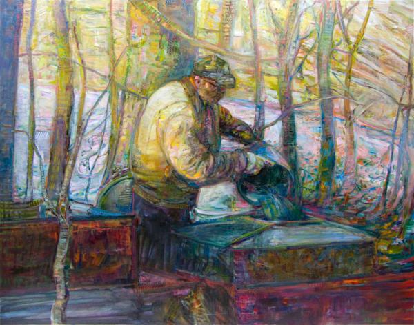 Gathering Sap Art | Tony Hendrick