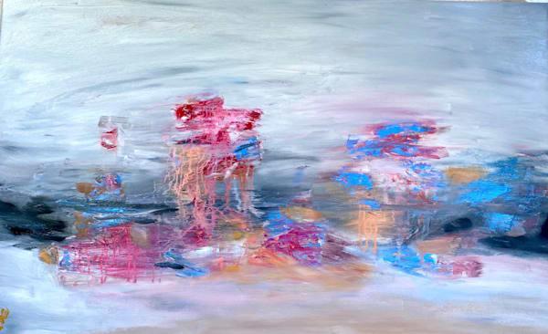 Abstract Expressionist Original Art Medusa
