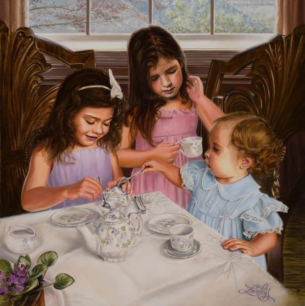 Afternoon Tea Art | James Loveless Art