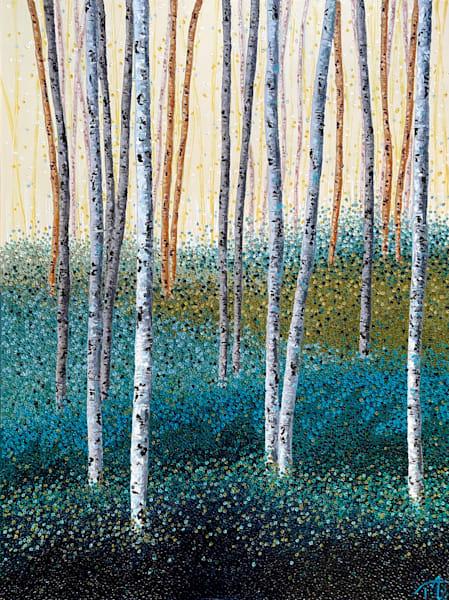 Serene In Green   Original Oil Painting Art | Tessa Nicole Art