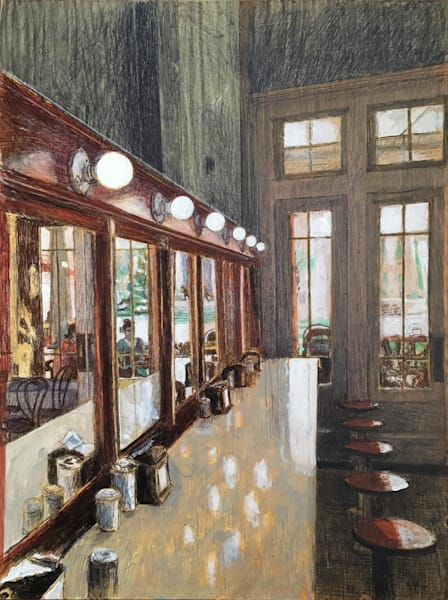 Morning Call To Cafe Du Monde Art | New Orleans Art Center