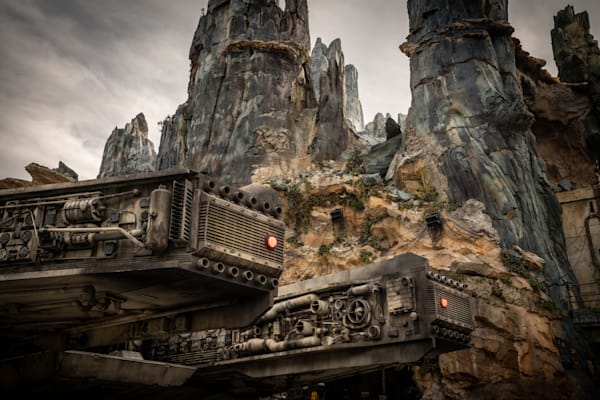 Millennium Falcon On A Cloudy Day Photography Art | William Drew Photography