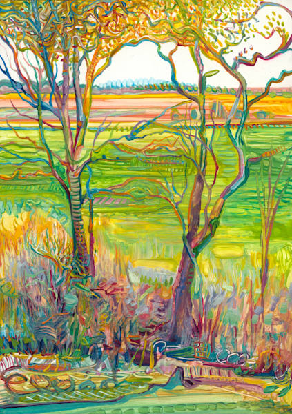 Spring Trees Art | Tony Hendrick