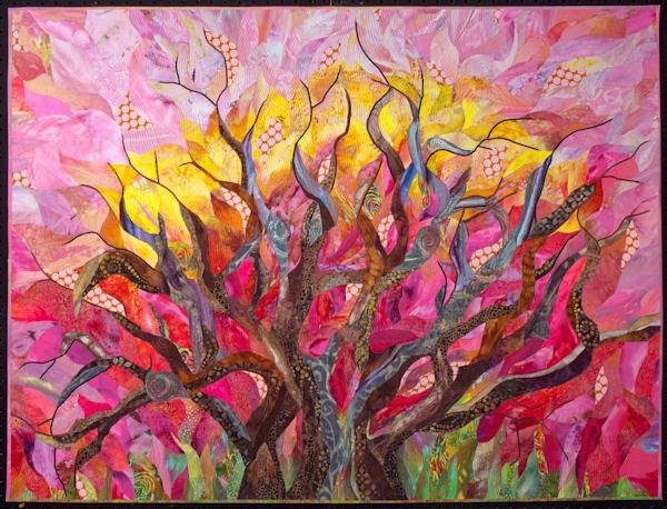 Earth, Wind & Fire Art   Barbara Olson Fiberarts