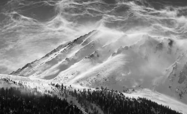 Wind Over Eastern Sierra Nevada Photography Art | Leiken Photography