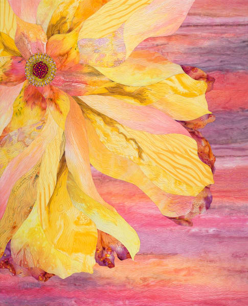 Gallery 2 Original Flower Art Quilts