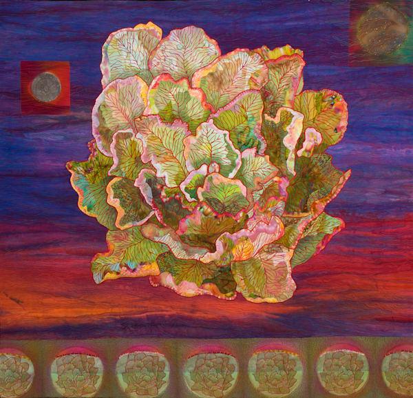 Moon Glow Art   Barbara Olson Fiberarts