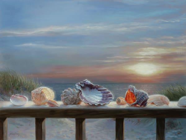 Shells For Grandma Art | Romanova Art