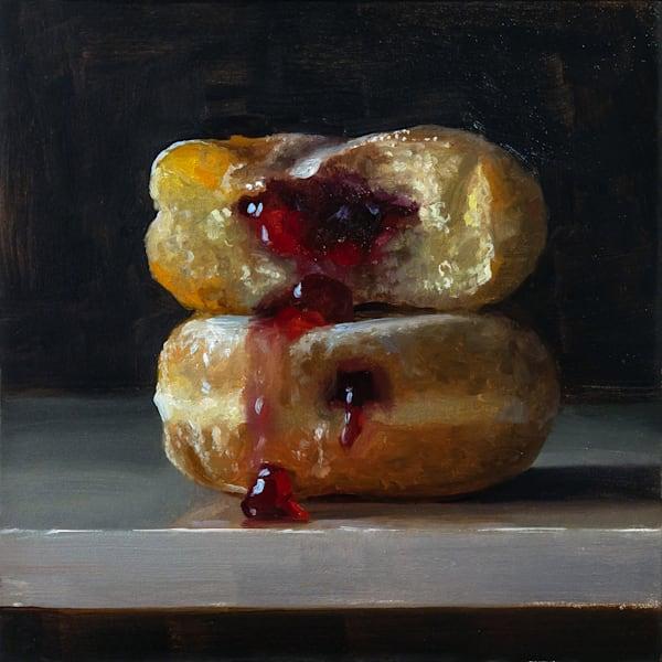 Jelly Donuts 2 Art | Romanova Art