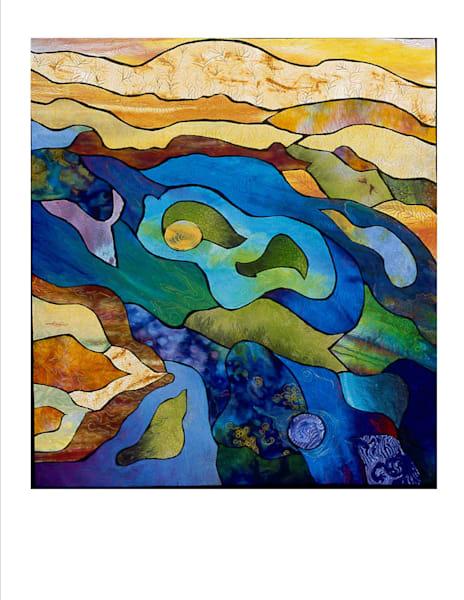 Wetlands Art   Barbara Olson Fiberarts