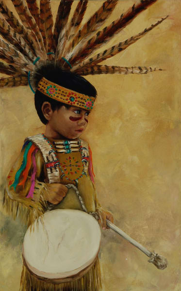 Little Drummer Boy Art | Marsha Clements Art