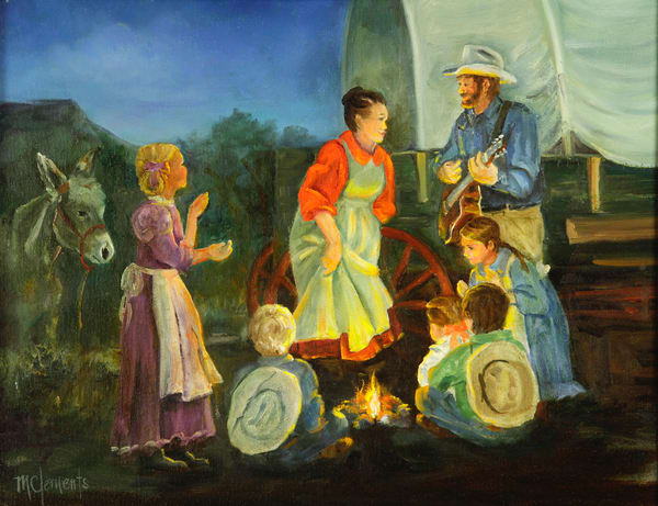 Campfire Songs Art | Marsha Clements Art
