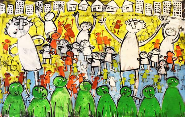 Fun artwork painted by Eddie Hamilton