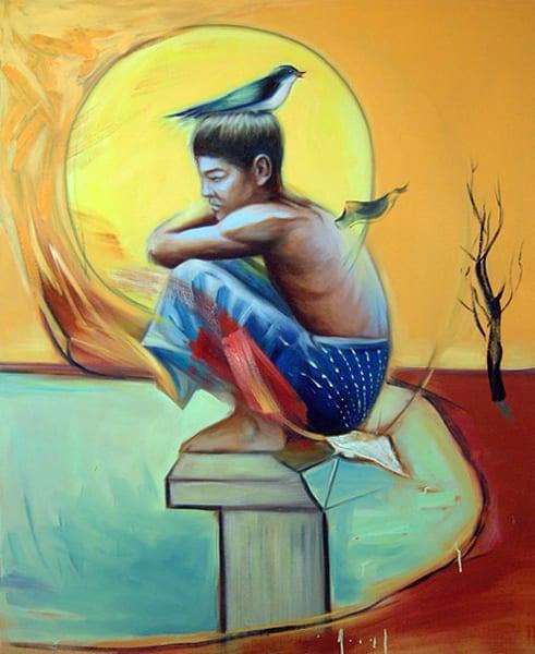 The Child Of The Flood Art | Mathieu Laca