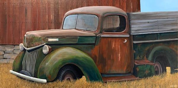 Old Truck #6 Art | Skip Marsh Art