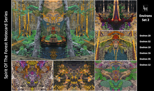 Spirit Of The Forest Notecards | Loree Harrell Art