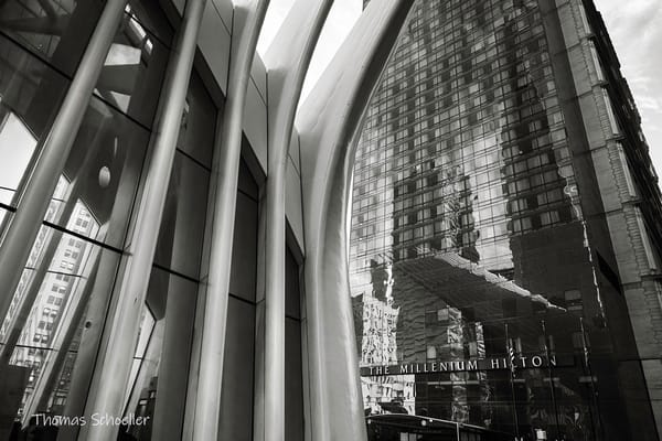 Lower Manhattan - NYC B&W Fine Art Photography Prints for sale | Millennium Hotel