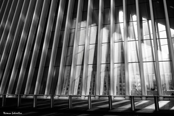 New York City semi-abstract fine art photography prints for sale | The Oculus Center monochrome
