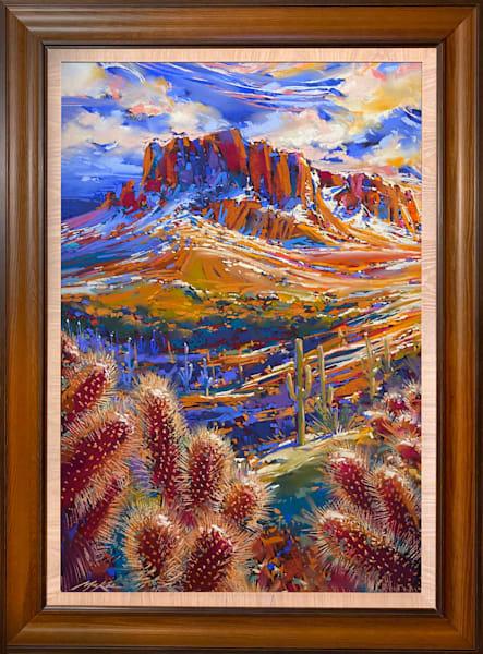 Superstition Snow #3 Art | Michael Mckee Gallery Inc.