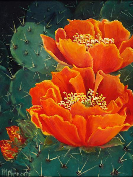 Prickly Pair Art | Marsha Clements Art