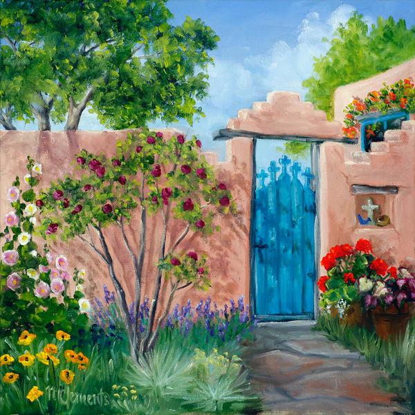 Gate Of Crosses Art | Marsha Clements Art