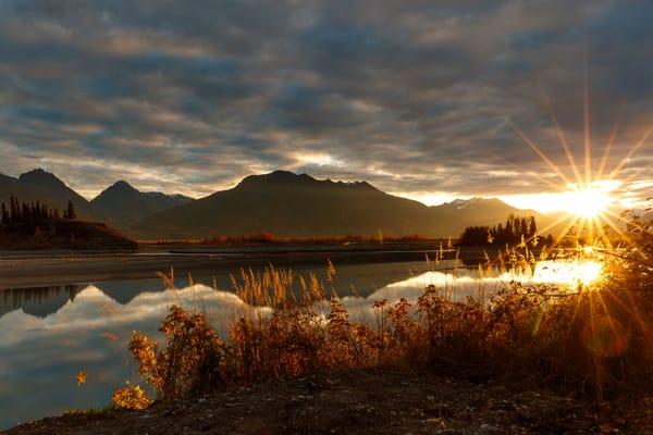 Knik River Sunrise 2