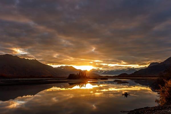 Knik River Sunrise 3