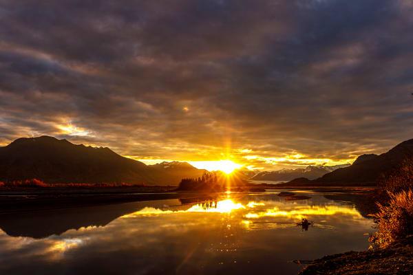 Knik River Sunrise 1