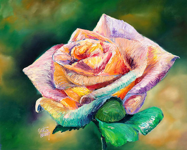 The Colors Of A Rose Art | Hackley Fine Art
