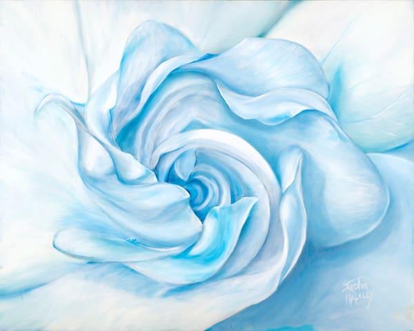 I Dream In Gardenia Art | Hackley Fine Art