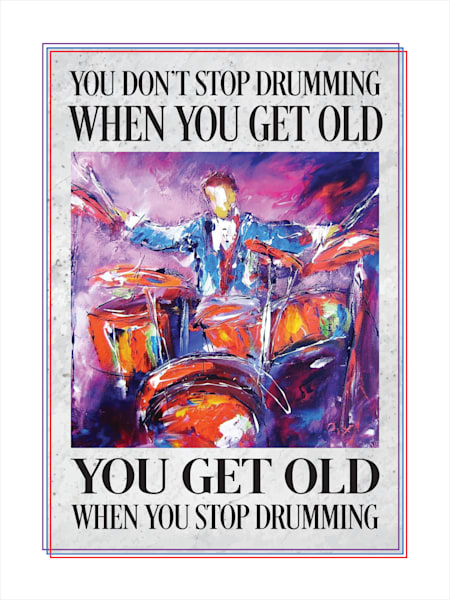 Don't stop drumming