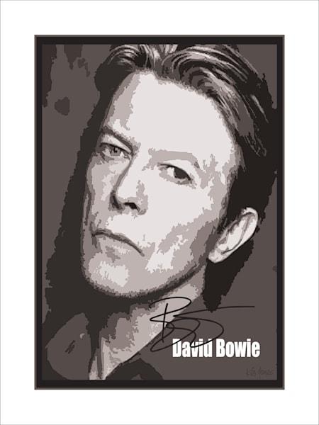 Bowie Print Art | Ken Jones Graphics