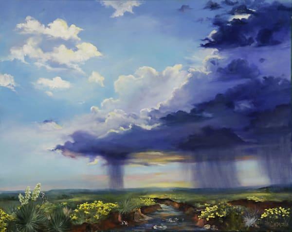 Purple Rain Art | Marsha Clements Art