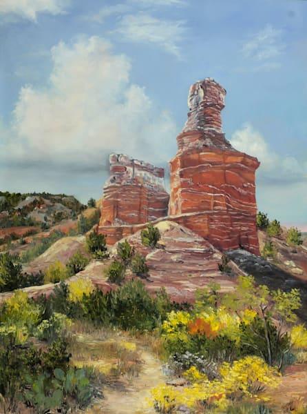 Palo Duro Sentinel Art | Marsha Clements Art