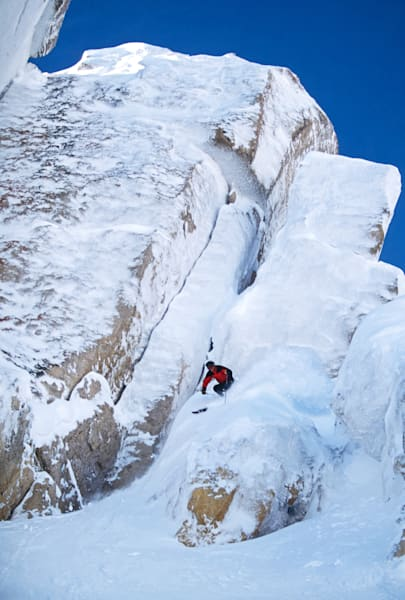Doug Coombs Corbet's Couloir Rime