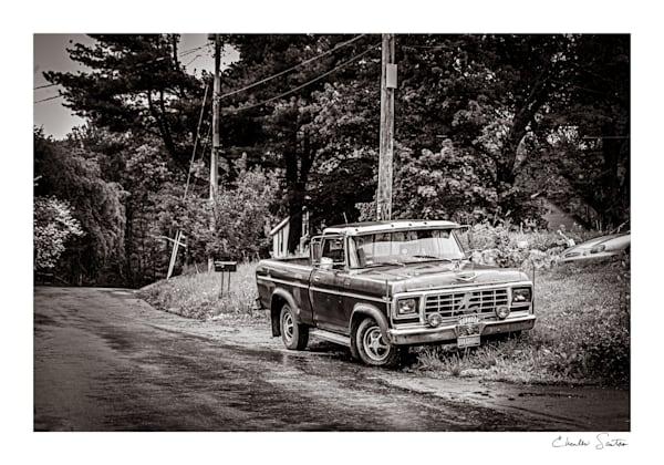 Redneck Pickup Photography Art   Charles Santora Photography