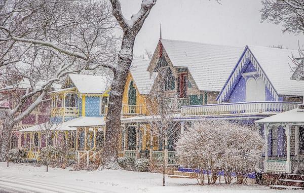 Gingerbread Snow Blizzard Art | Michael Blanchard Inspirational Photography - Crossroads Gallery