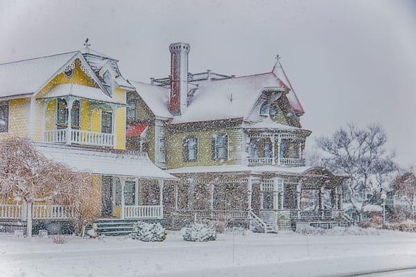 Norton House Snow Art | Michael Blanchard Inspirational Photography - Crossroads Gallery