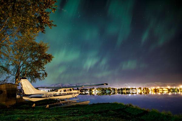 Plane and Hood Lights
